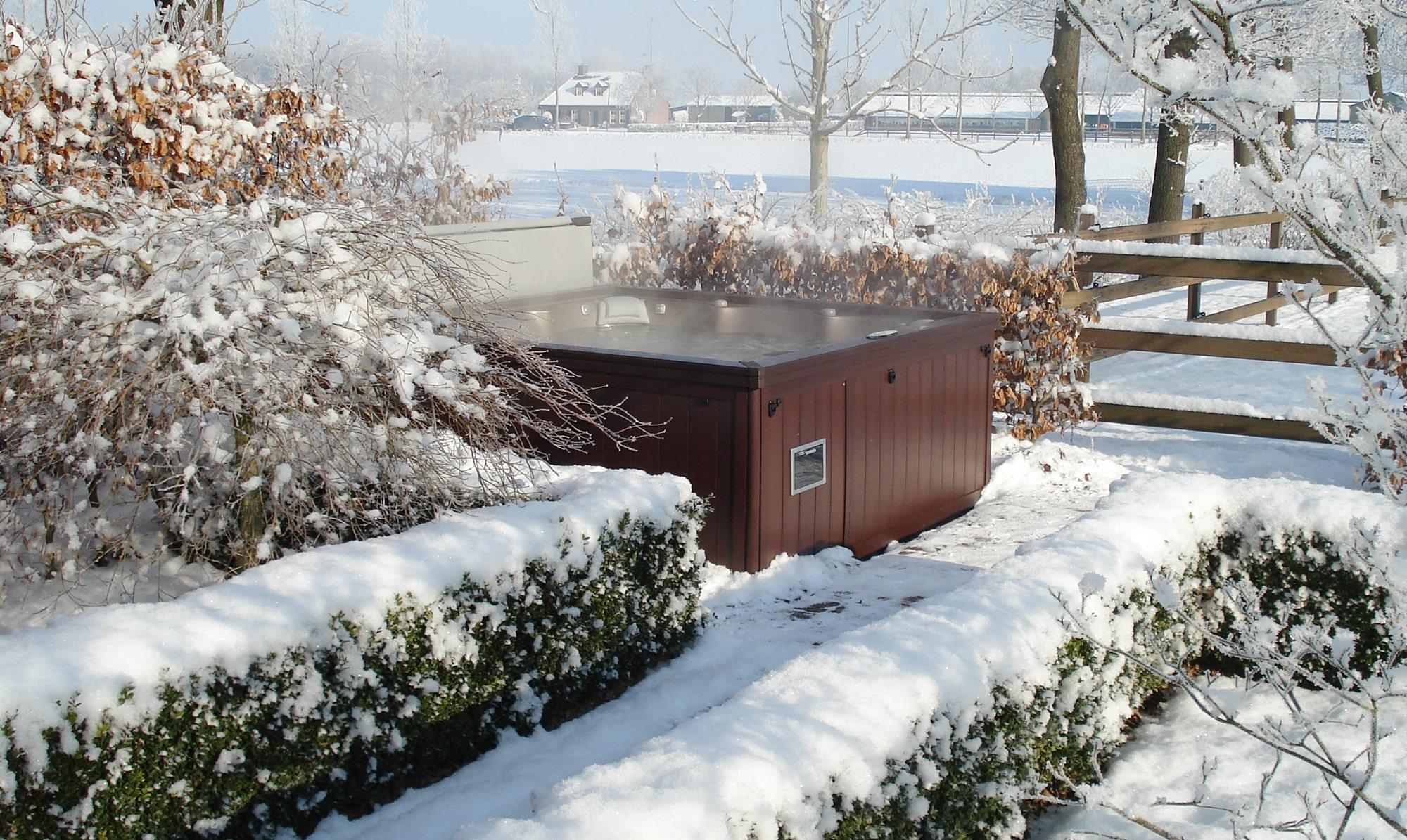 Sundance Spas winter installation
