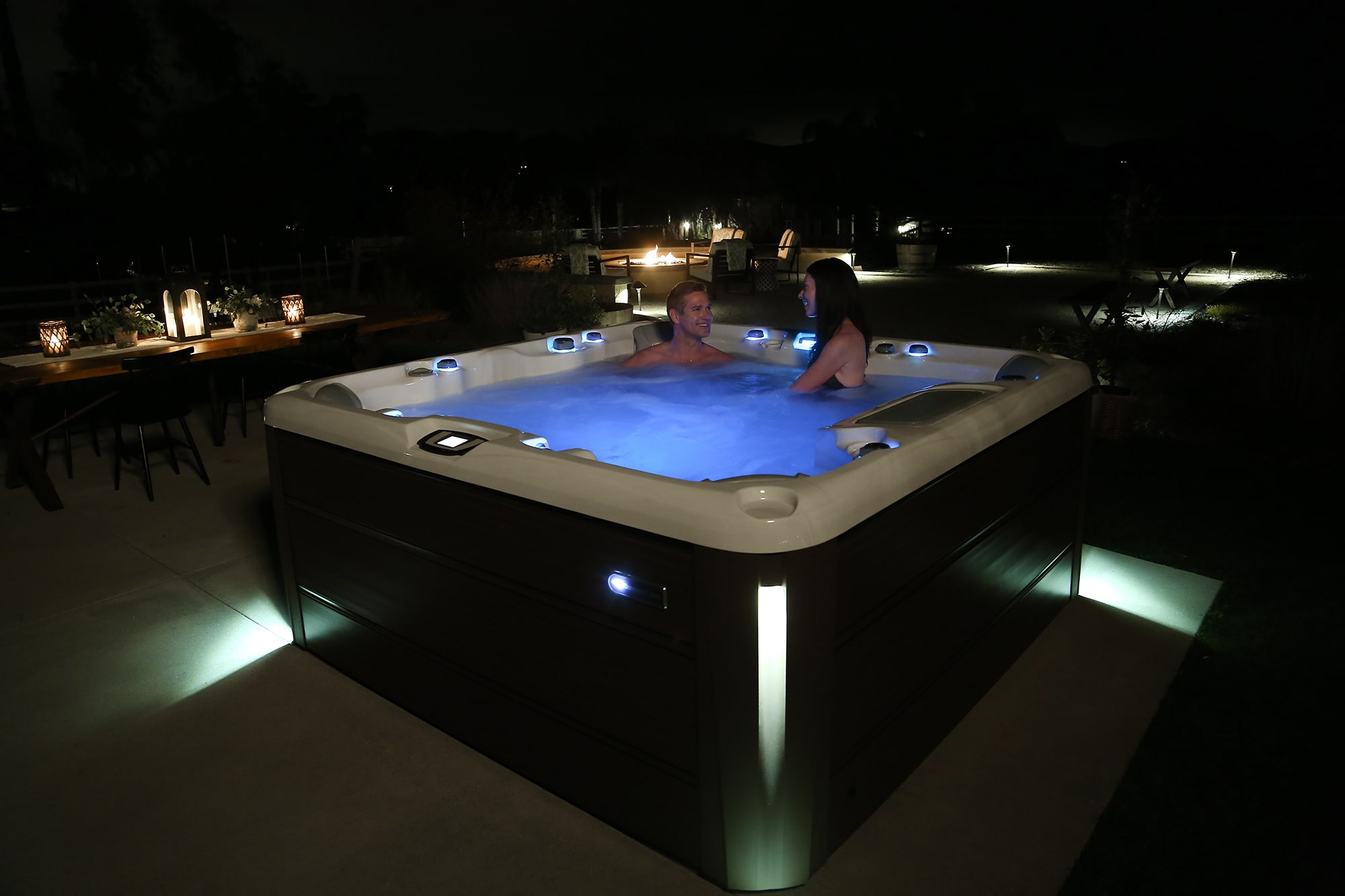 Hot Tub Sundance Spas 880 Series Optima Install
