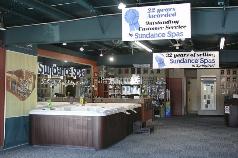 Le Dipping Parlor Spas. Springfield Sundance Showroom