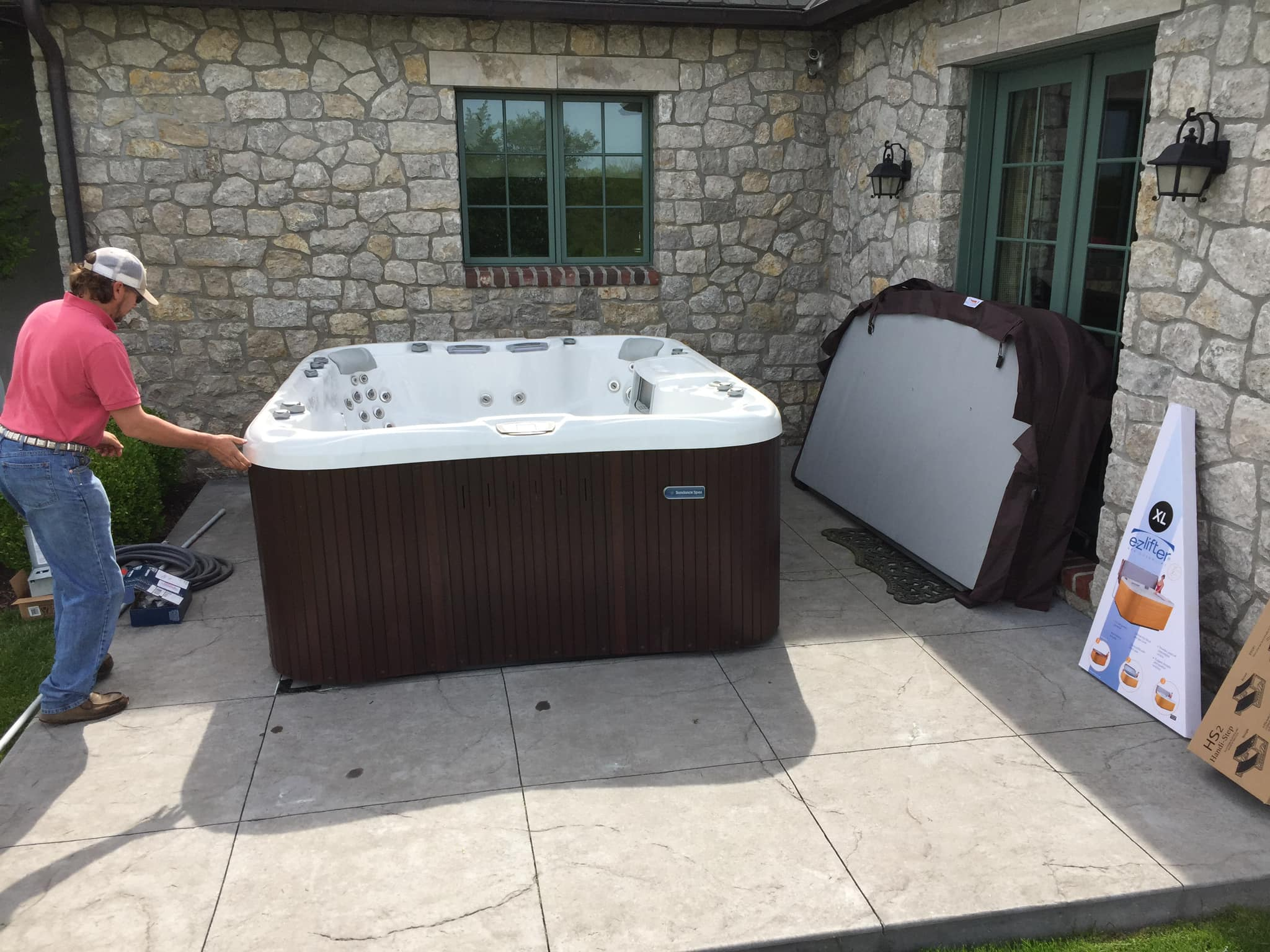Hot tub Installation in Springfield MO